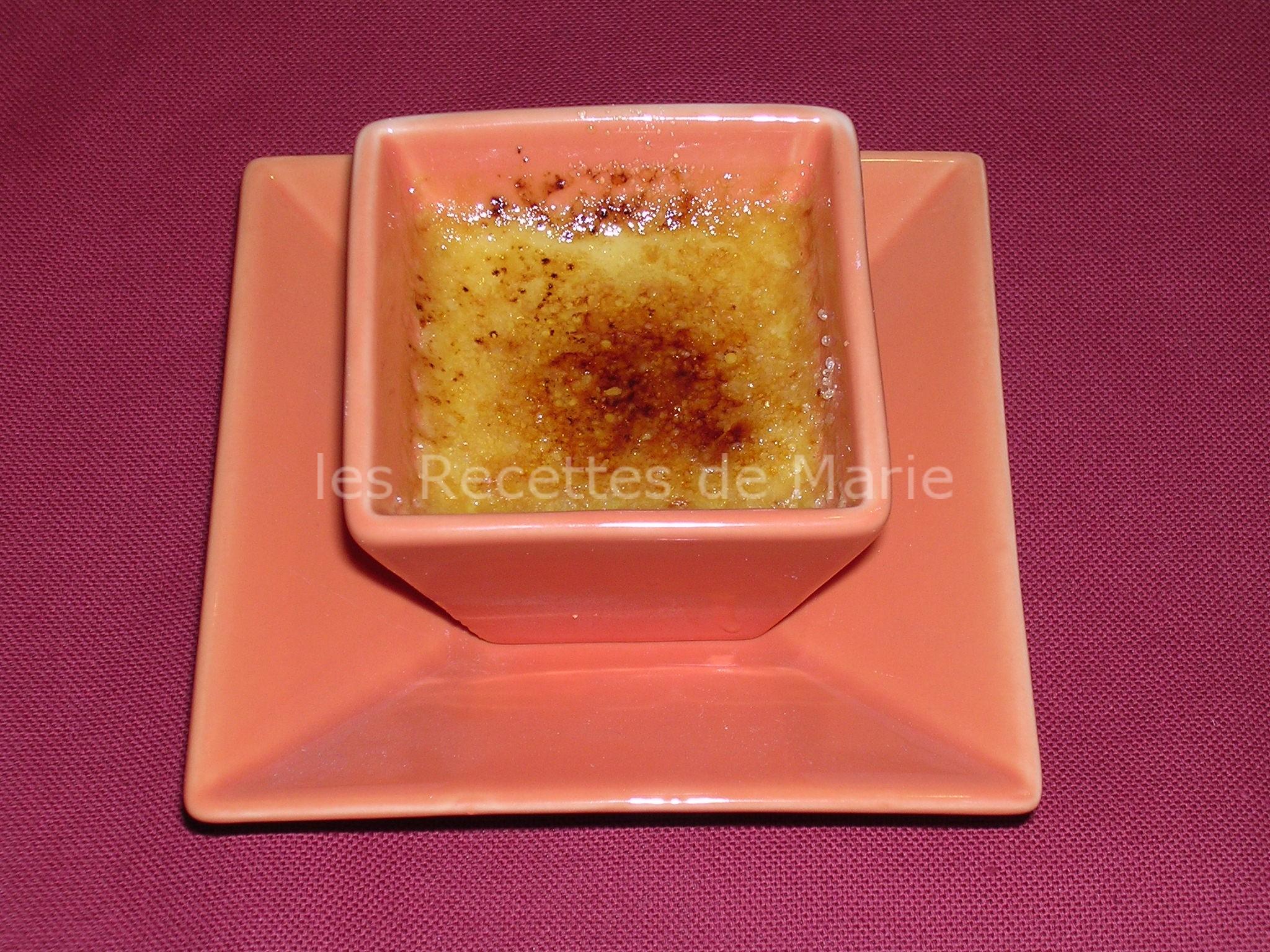 Petits pots de crème brûlée