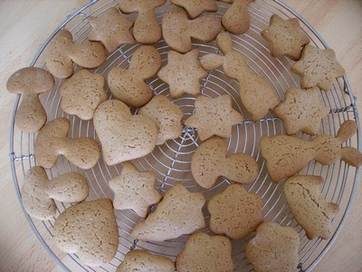 Petits pains d'épices de Noël