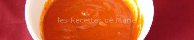 sauce tomates facile