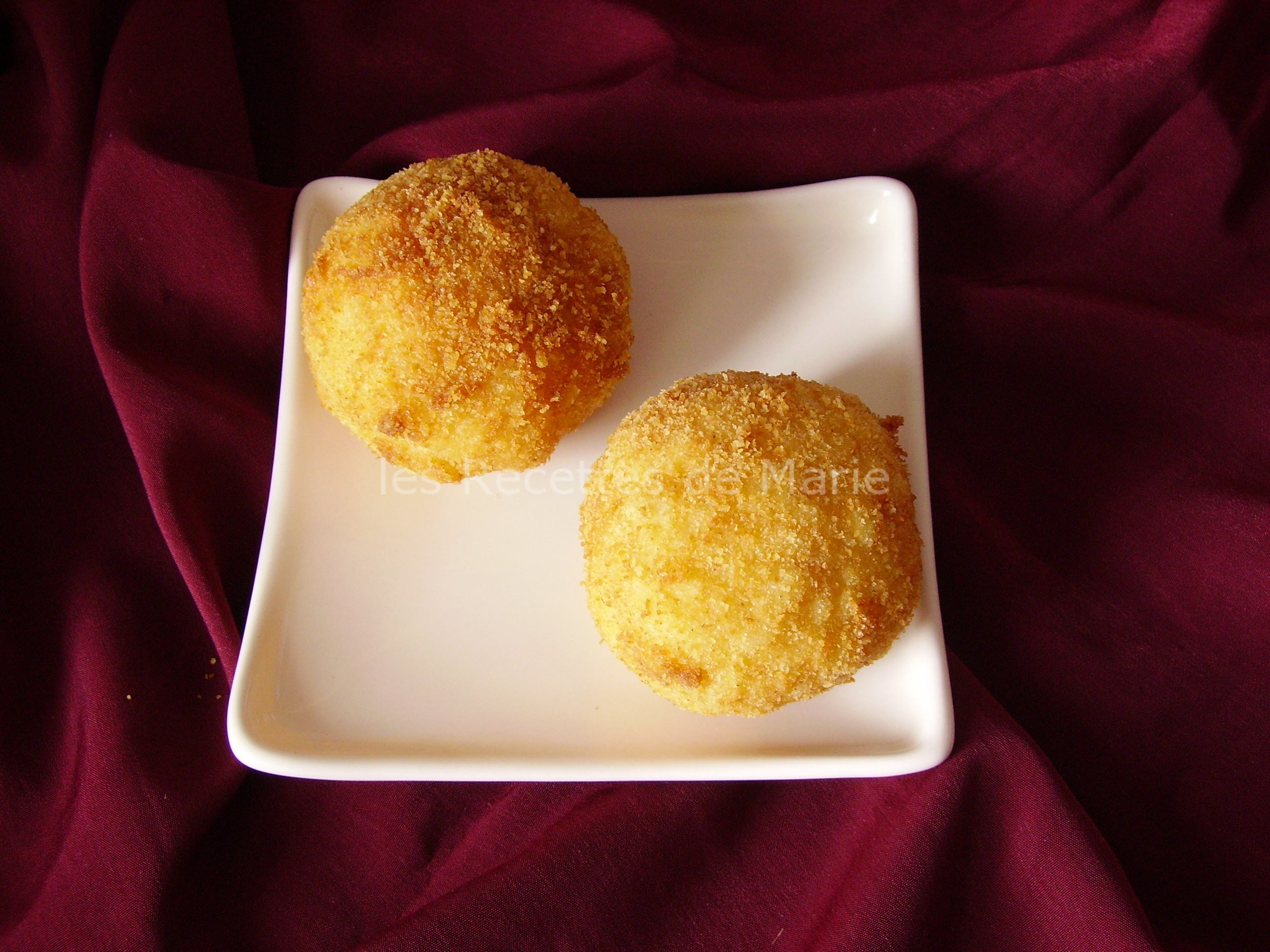 Boulettes de riz ou Arancini Sicilienne