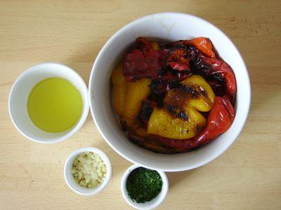 Salade de poivrons rapide sans gluten