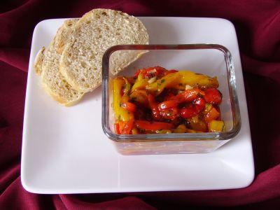 Pepper salad quick gluten free