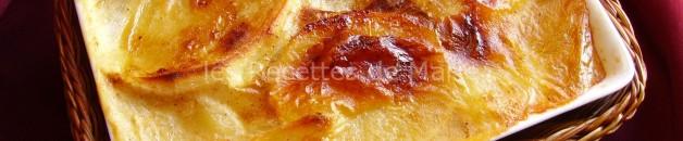 gratin de pommes de terre au magret fumé