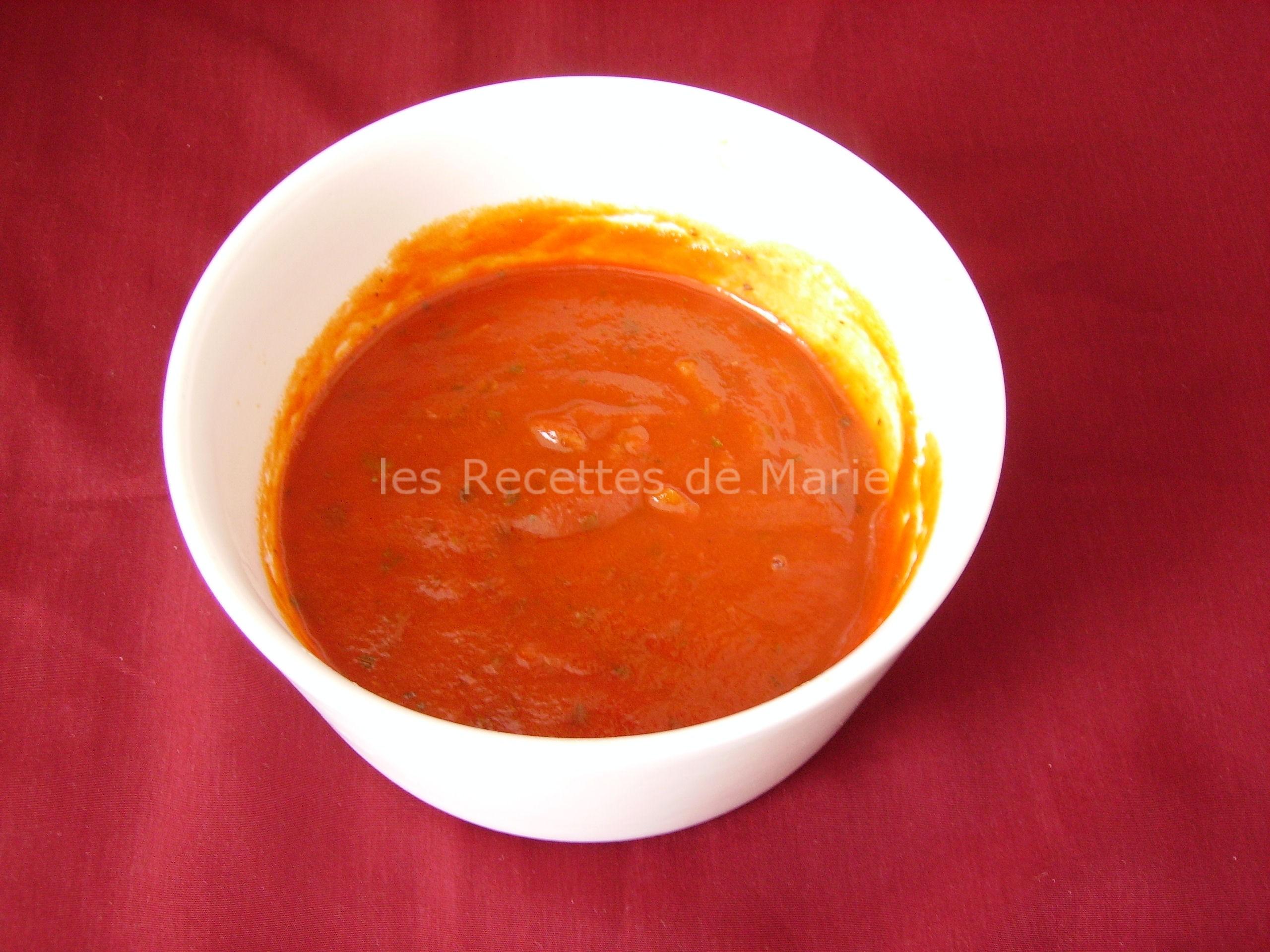 Sauce tomate facile pour pâte sans gluten