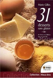 31 recettes sans gluten