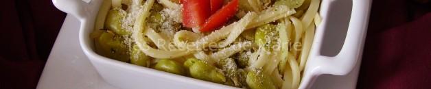 Pâtes aux fèves