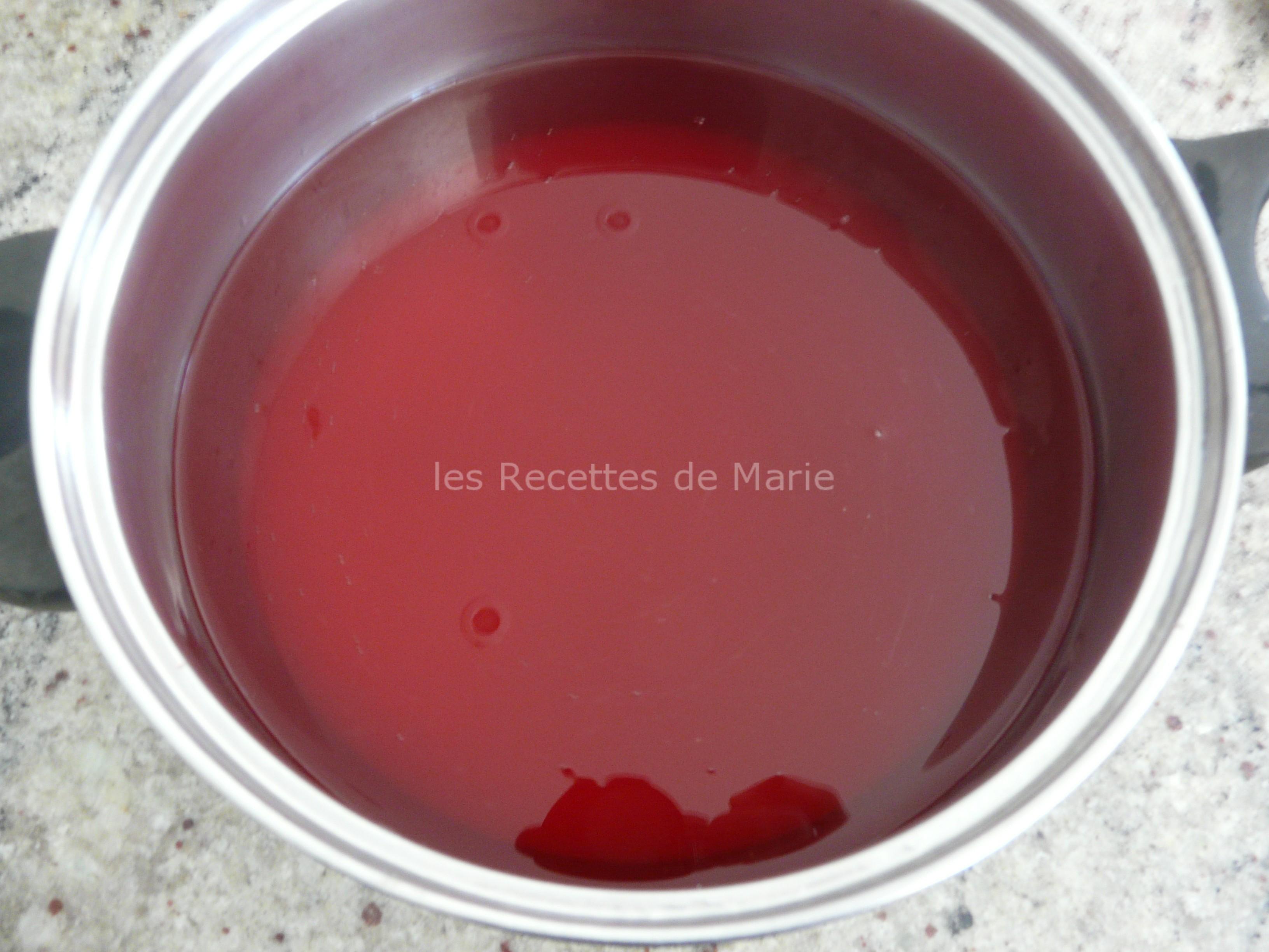 Confit de coquelicots les recettes de marie for Miroir de sucre