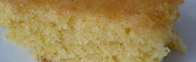 moelleux au citron sans gluten